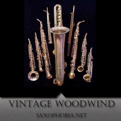 VINTAGE Woodwinds